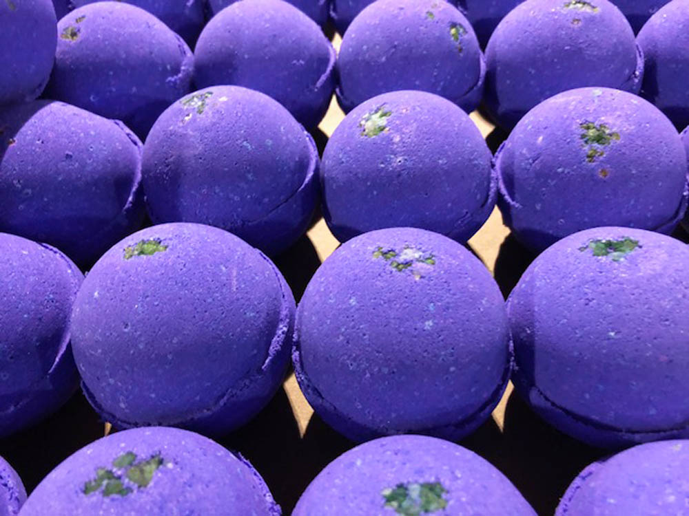 Lavender Lemongrass Cheap Bath Bombs