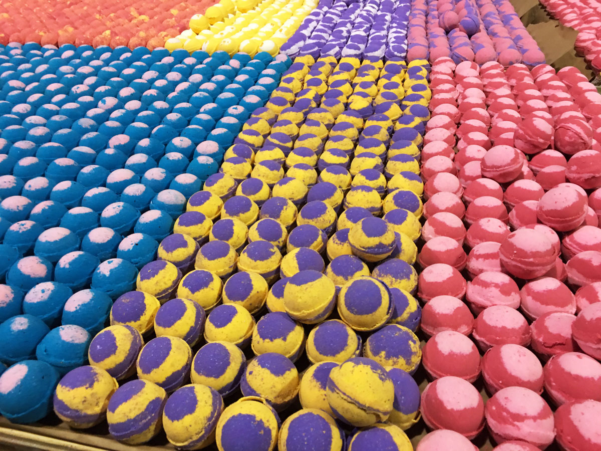Assorted Bath Bombs - Best Selling Fragrances