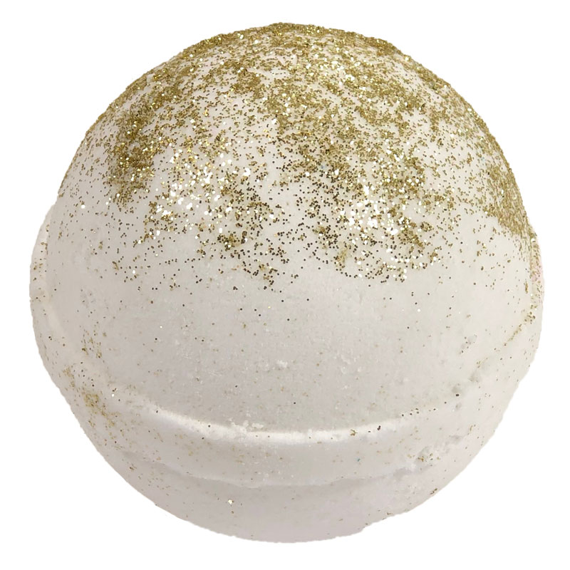 Bath Bombs for Kids - Gold & Glitter