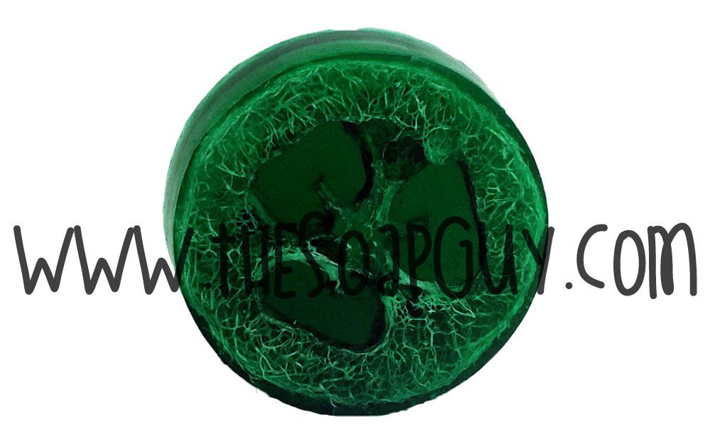 Mistletoe Luffa Soap Bar