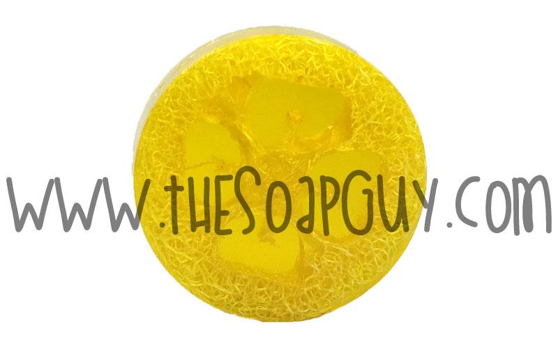 Lemon Sage Luffa Soap Bar