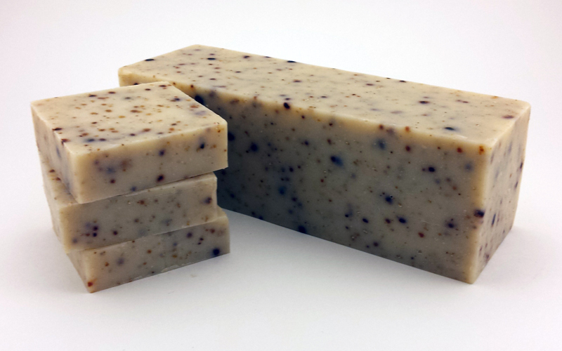 Wholesale Goats Milk Soap Loaf - Persimmons